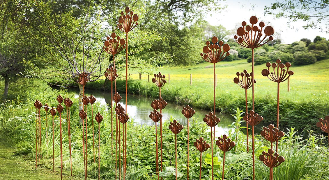 Cow Parsley Garden Sculpture Fresh Air