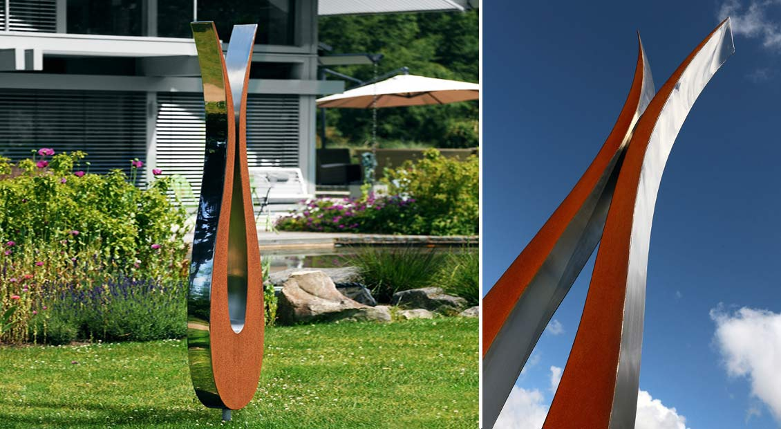 garden-sculpture-stainless-steel